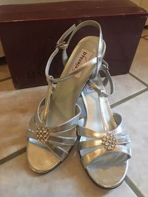 Silver Heels Size 7.5 for Sale in Falls Church, VA