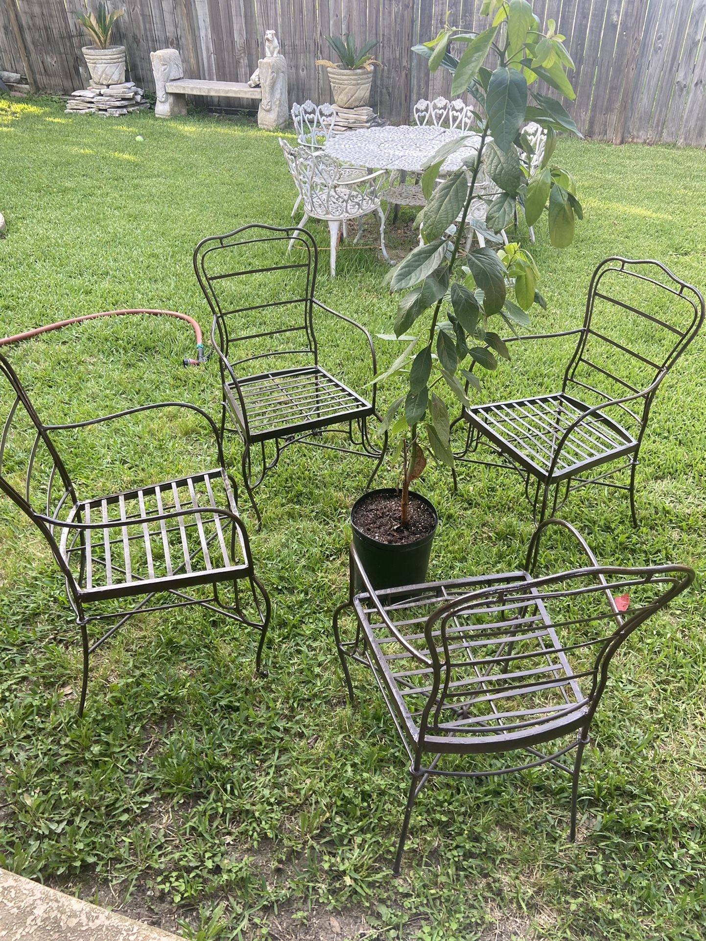 Outdoor heavy duty chairs
