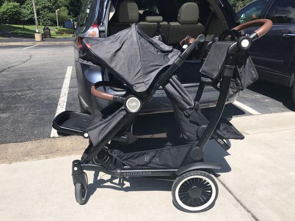 Austlen Entourage Double Stroller For Sale In Dale City Va Offerup
