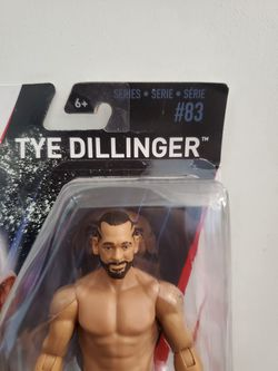 TYE DILLINGER WWE Mattel Basic Series 83 Wrestling Action Figure Toy NEW NIB. Condition is New. Thumbnail