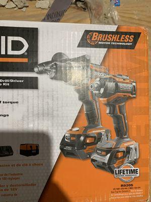 Photo Rigid brushless drills brand new in box never used!!!