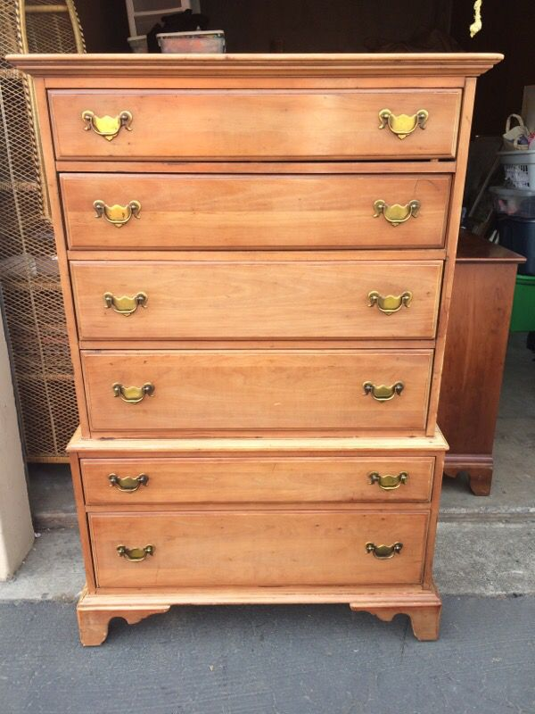 Unique Furniture Makers Chest On Dresser Solid Cherry Wood In San Jose Ca Offerup