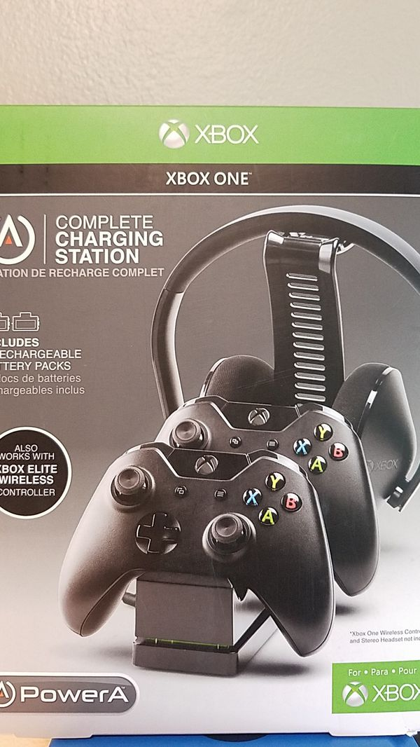 Xbox One Complete Charging Station NIB PowerA for Sale in Monroe, WA -  OfferUp