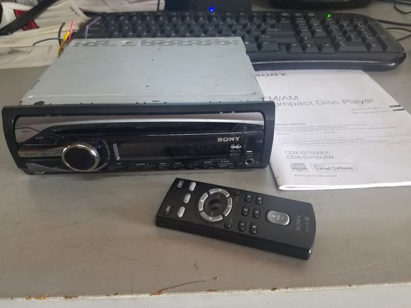 sony cdx-gt55uiw