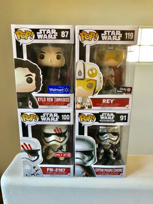 Star Wars Funko pops for Sale in Los Angeles, CA