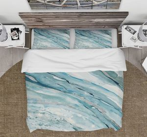 Photo FULL/QUEEN teal 3-pc duvet set. (NO filler included) by East Urban Home. Tie closure. Machine washable. Water resistant. Wrinkle resistant. 100% micr