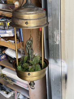 Mineral Oil Vintage Working Lamp  Thumbnail