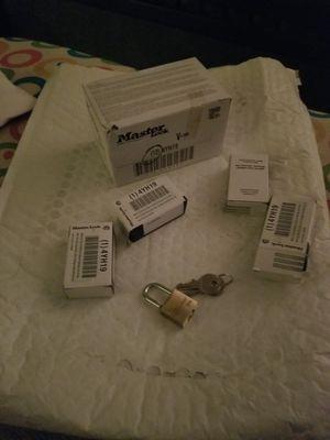 mini locks with the key for Sale in Norfolk, VA