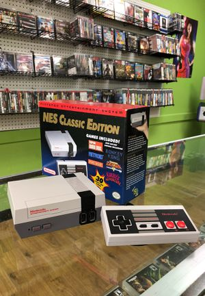 Mini Nintendo Classic Edition ( modded 1,000+ games ) for Sale in Houston, TX