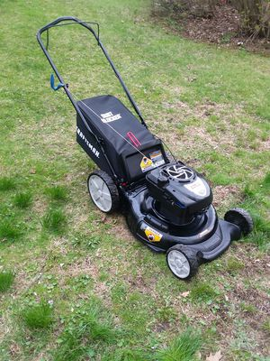 Photo Lawn mower Craftsman 190cc Oil & Tuned