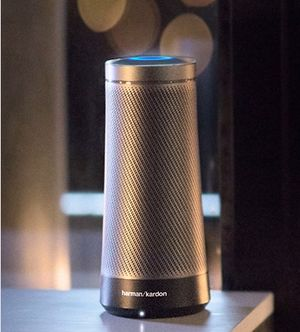 Harman Kardon - Invoke Smart Bluetooth Speaker - Graphite for Sale in Gaithersburg, MD