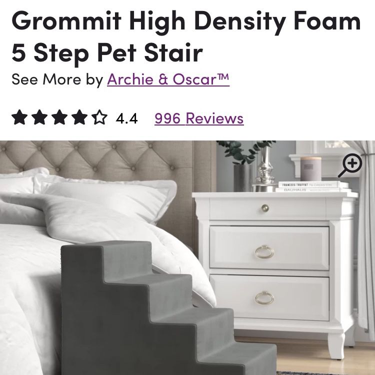 "Brand New - 24"" Pet Steps"