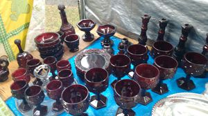 Red Avon Glass for Sale in North Chesterfield, VA