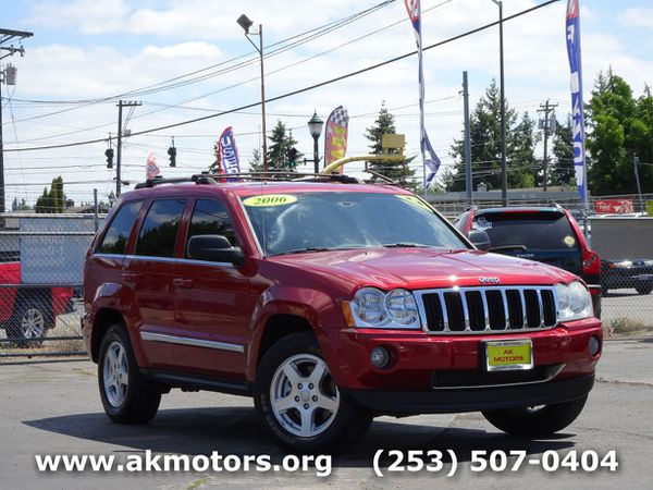 2006 Jeep Grand Cherokee Limited For Sale In Tacoma Wa Offerup