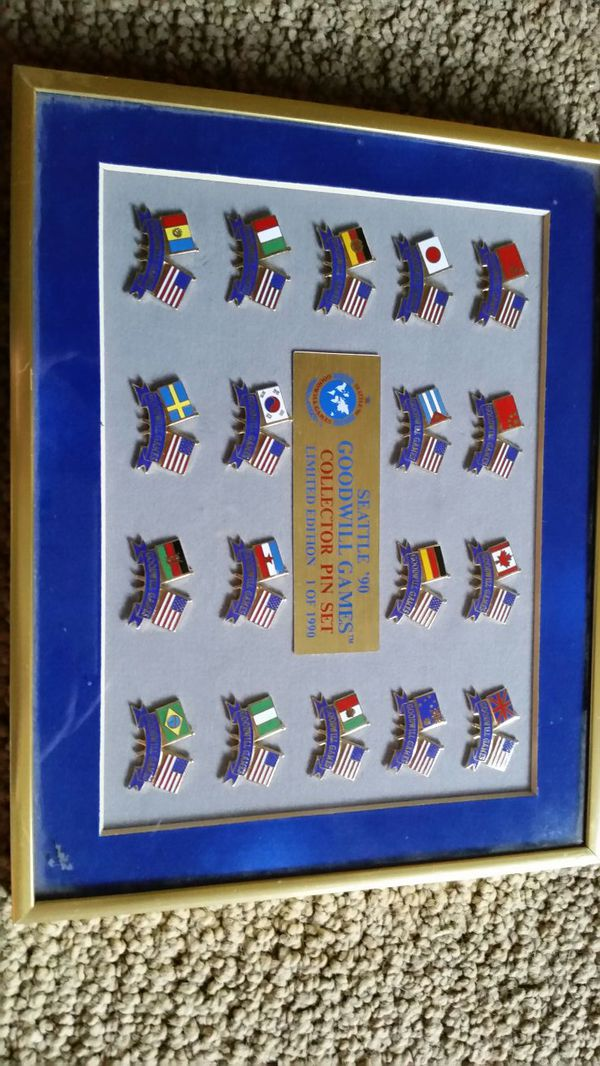 Goodwill Games Pin Set for Sale in Everett, WA - OfferUp