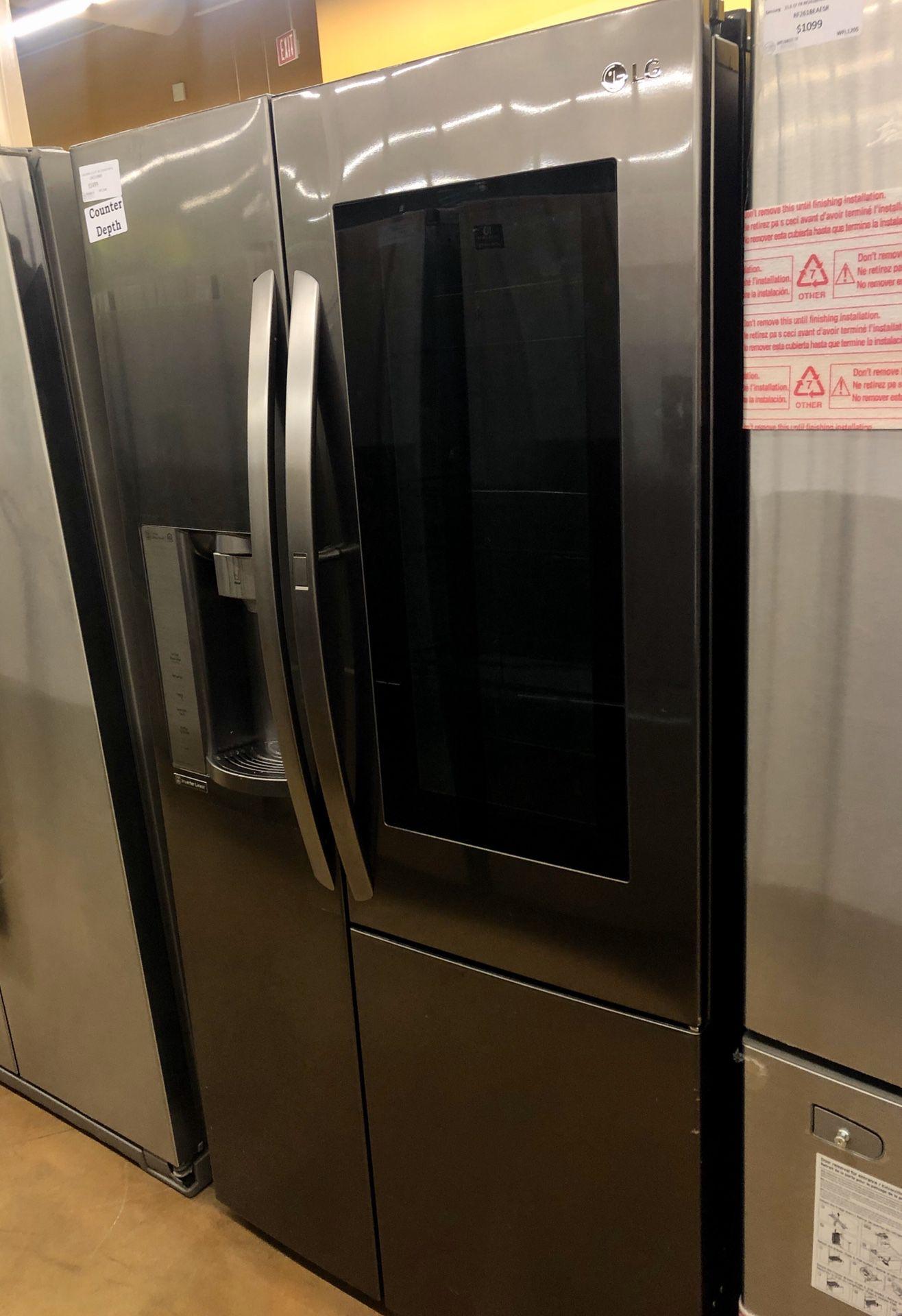 LG Refrigerator with instaview