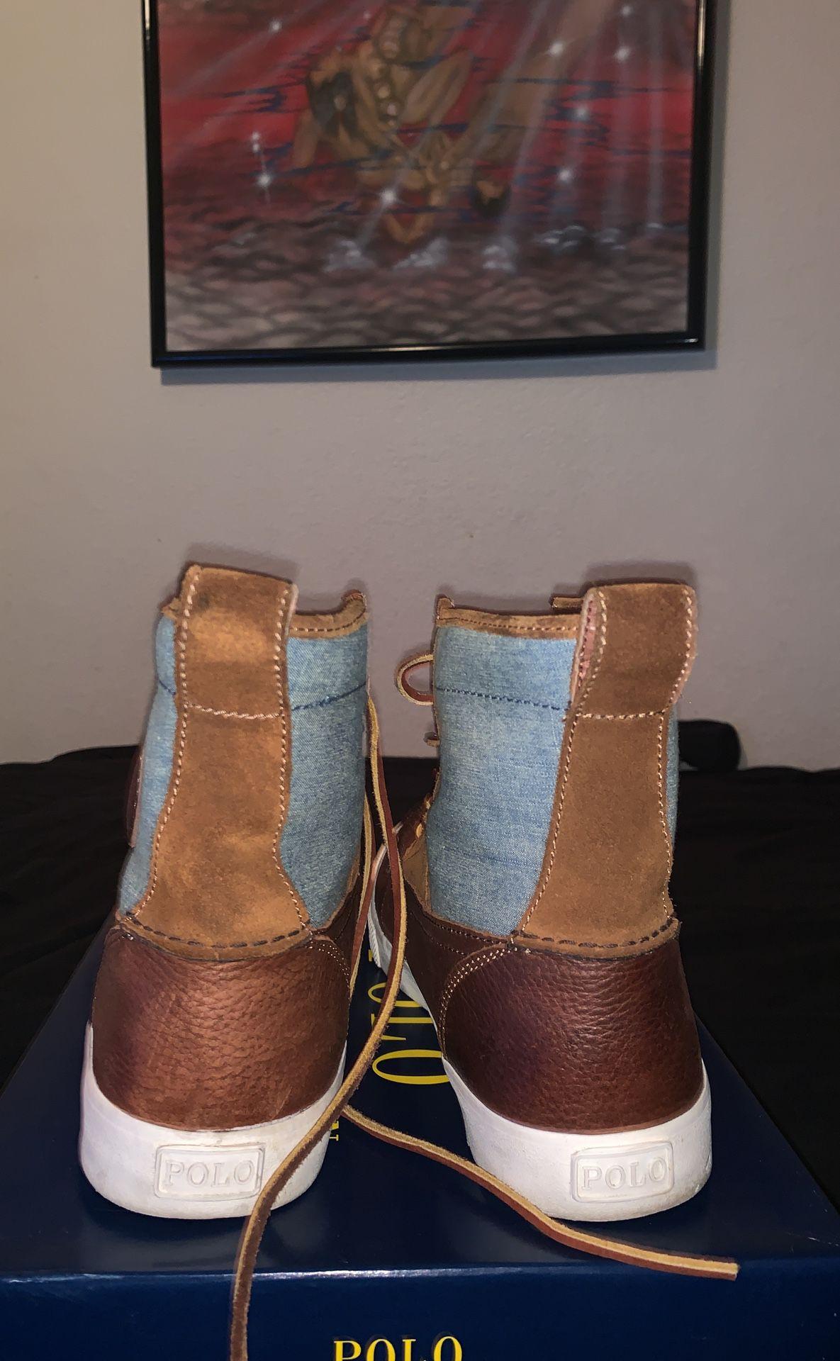 Ralph Lauren winter men boots