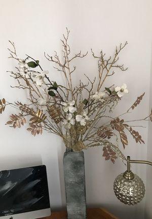 Vase & flower decoration for Sale in Miami, FL