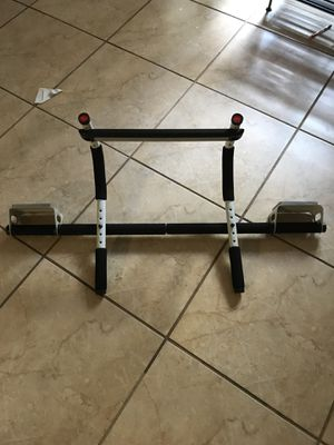 Doorway pull up bar for Sale in Orlando, FL