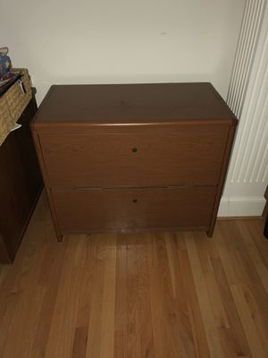 2 drawer lateral file cabinet for Sale in Ashburn, VA