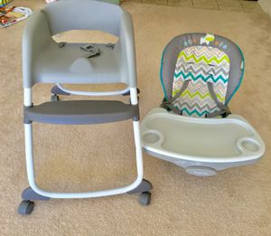 Ingenuity trio 3 in 1 high chair for Sale in Gaithersburg, MD
