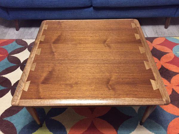 510872a4f9b8 Lane Acclaim Vintage American Mid Century Modern Square Coffee Table ...