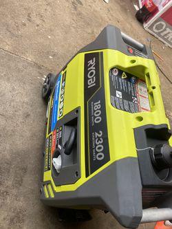 Ryobi 1800 Running Watts 2300 Starting Watts Thumbnail