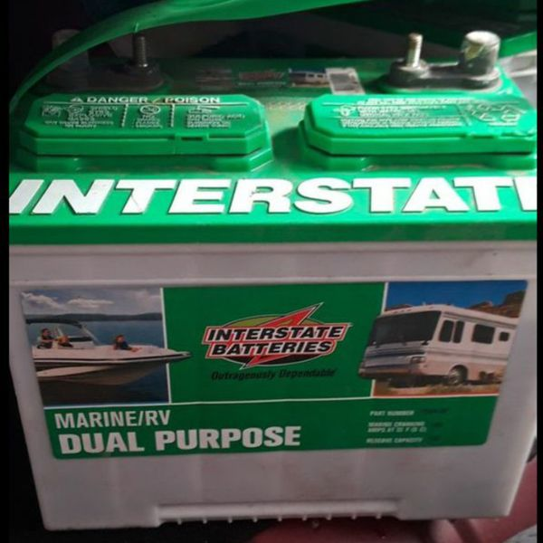 Interstate Deep Cycle Marine Battery >> Interstate Deep Cycle Rv Marine Battery For Sale In Santa Cruz Ca Offerup