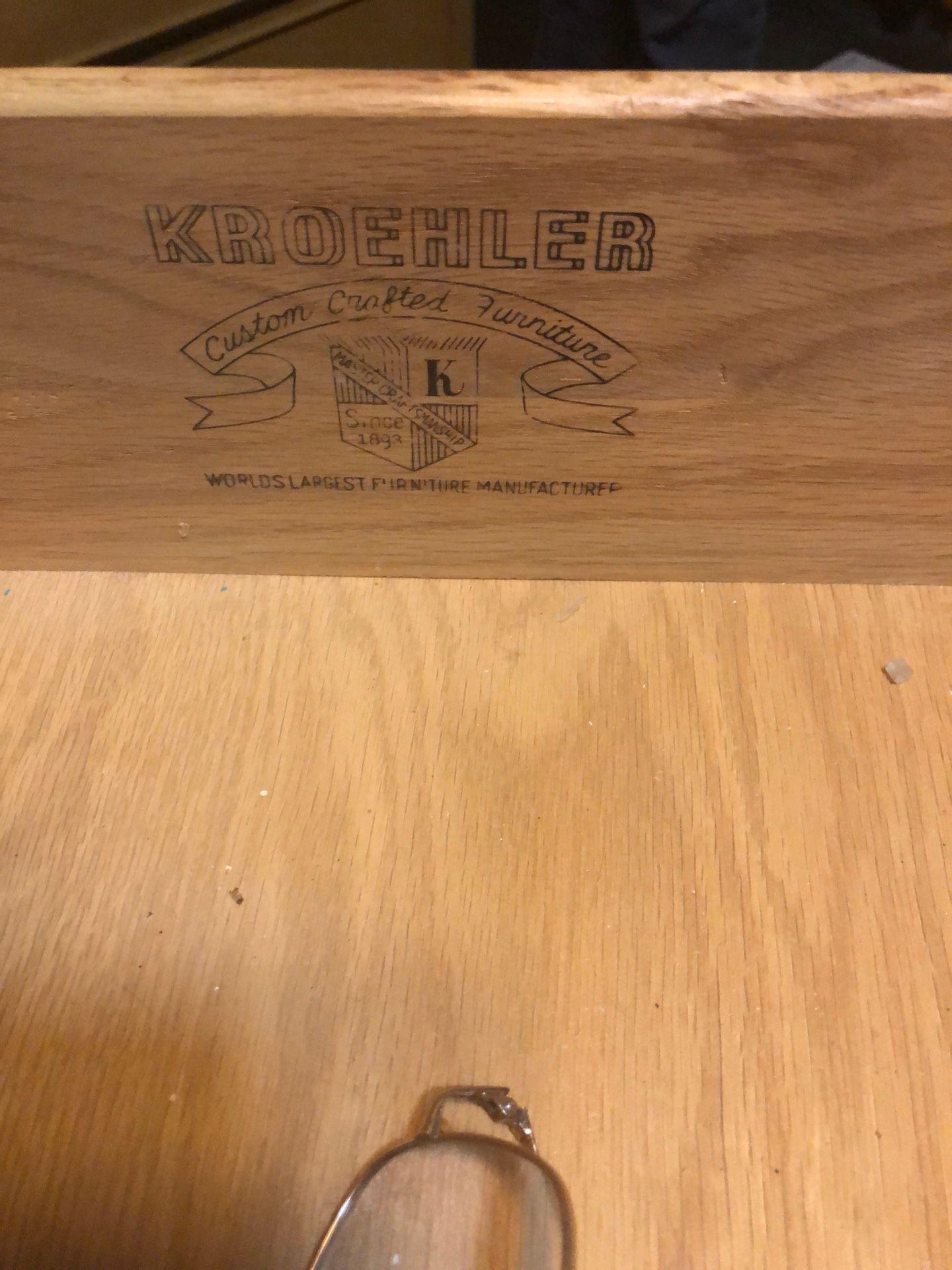 I950's bedroom set, Kroehler