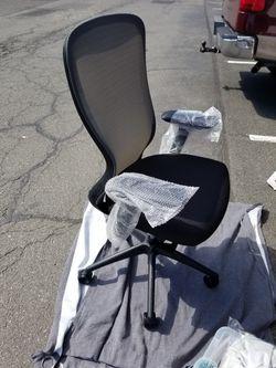 New Staples Ayalon Mesh and Fabric Task Chair Black 51505 Thumbnail