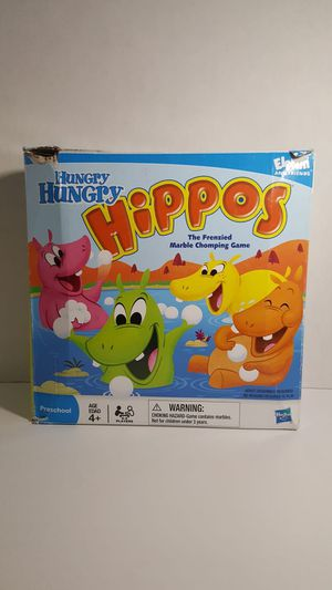 Hasbro Milton Bradley Hungry Hungry Hippos 2008 for Sale in Miami, FL