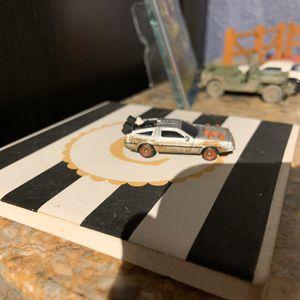 Photo Back to the future three DeLorean