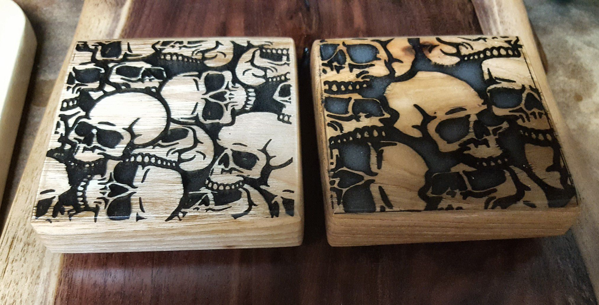 Serving/Cutting board with Coasters