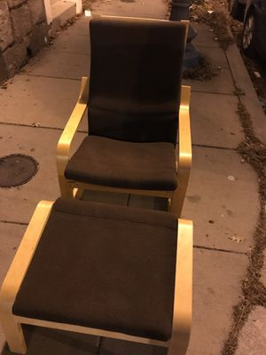 Ikea Chair/ FootStool for Sale in Washington, DC