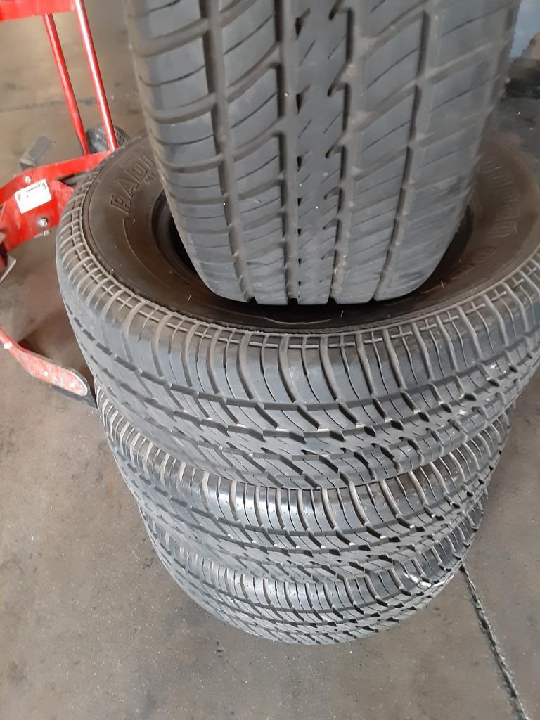 Set of 235/60/14 Cooper tires