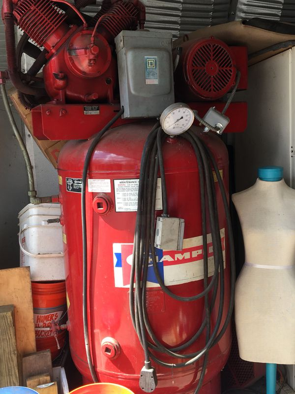 AIR COMPRESSOR - NOT 3 PHASE - 220 HOOK-UP for Sale in Prince Frederick, MD  - OfferUp
