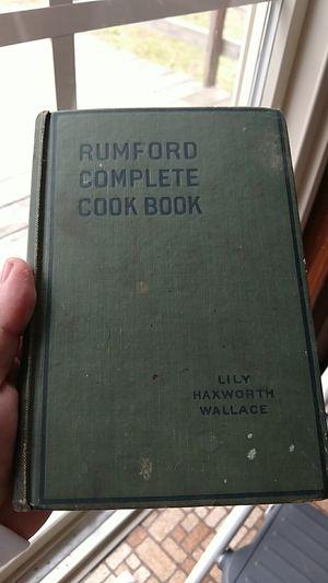 1918 cookbook for Sale in Appomattox, VA