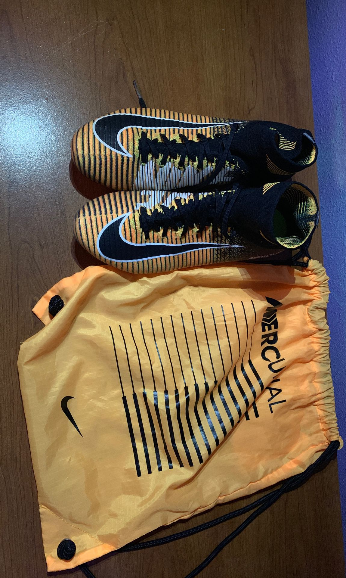 Mercurial superfly 5 outdoor soccer shoes