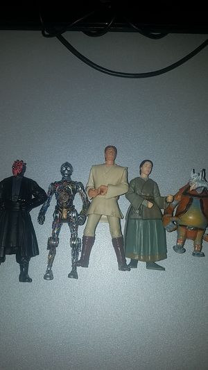 Star wars episode 1 action figure lot for Sale in Gresham, OR