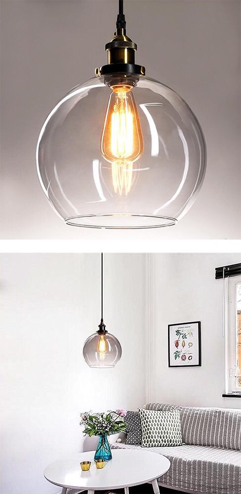 New 25 vintage industrial 98 glass ball ceiling lamp pendant new 25 vintage industrial 98 glass ball ceiling lamp pendant chandelier light clear for sale in whittier ca offerup aloadofball Images