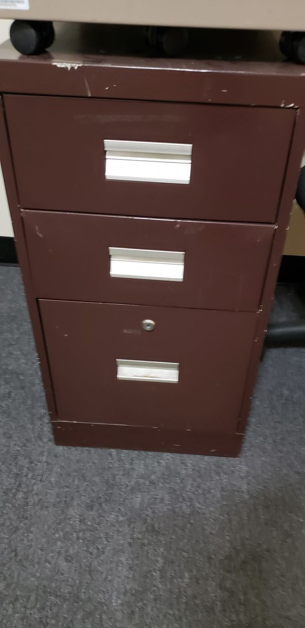 3 Drawer Small Filing Cabinet