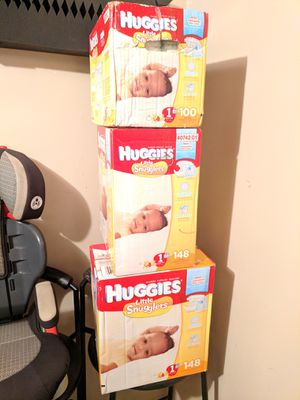 fe710ddf4a7 396 ct. of Huggies Diapers New Born 1to 14 lbs. for Sale in St