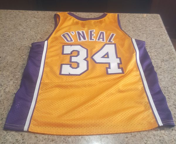 sports shoes ffa0f dd197 Shaq O Neal 32 LA Lakers Jersey Kids Small +2 Length for Sale in Las Vegas,  NV - OfferUp