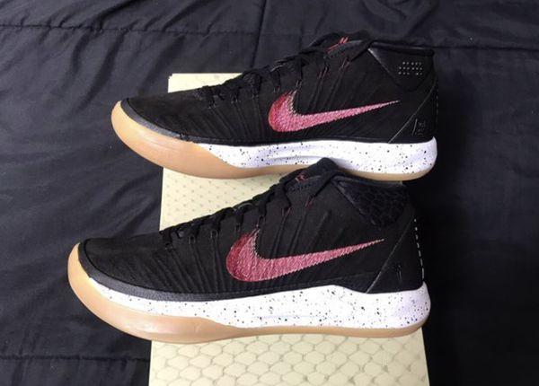 721ccfbc588 Nike Air Kobe AD Mid Black gum mens size 8