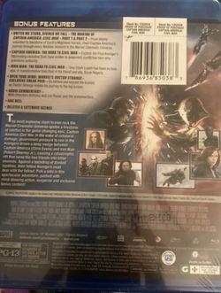 Marvel's Captain America: Civil War [Bl Thumbnail