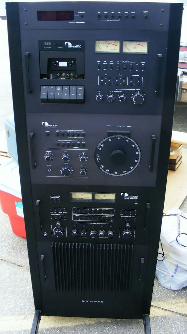 Nakamichi System One Audio Rack Rare For Sale In Falls