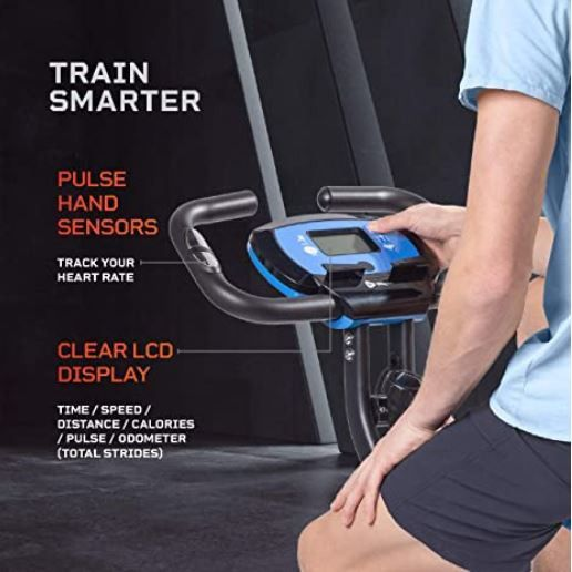 Exercise Whenever You Are With Slim Profile & Foldable Exercise Bike!