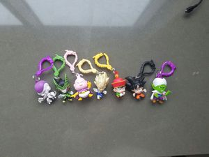 Dragon Ball z key chains or clips collectible for Sale in Seattle, WA