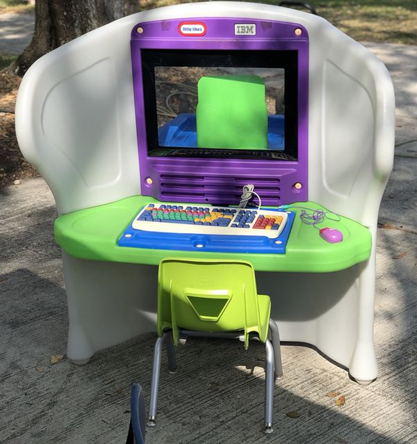 Little Tikes IBM Young Explorer Desktop 601491 for Sale in Kissimmee ...