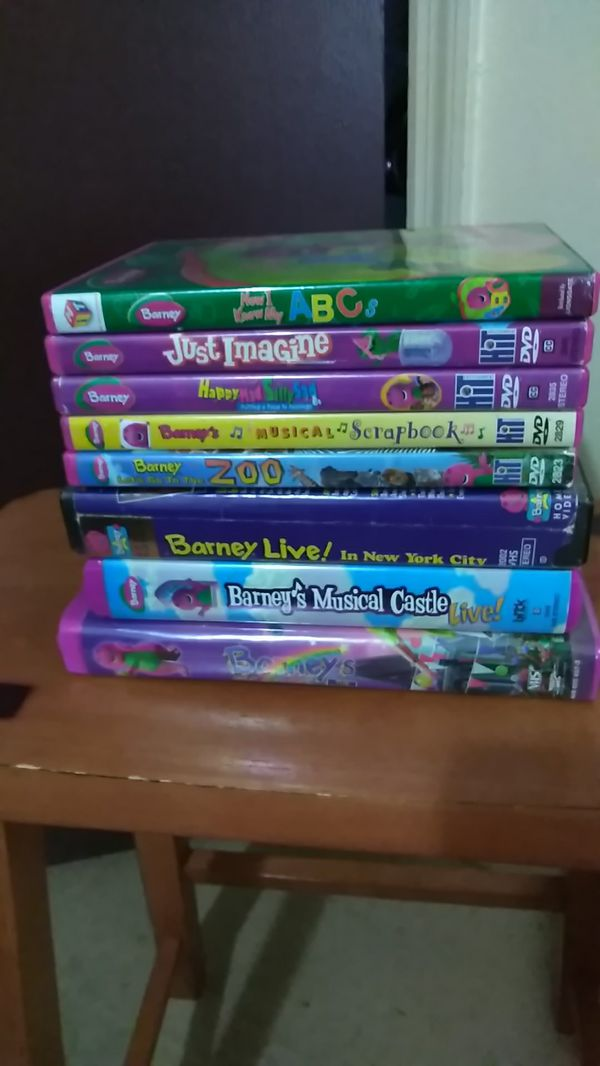 Barney Kids Movies :5 DVD & 3 VHS For Sale In Green Cove